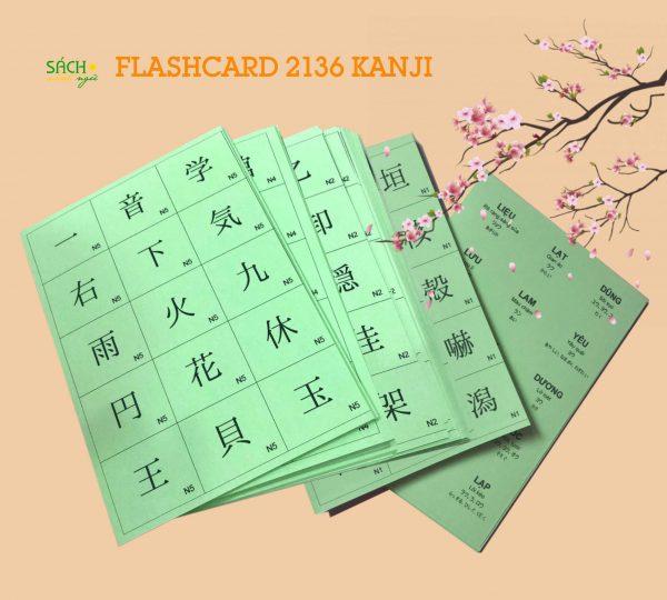 Bộ Flashcard 2136 Kanji JLTP N5 - N1 1