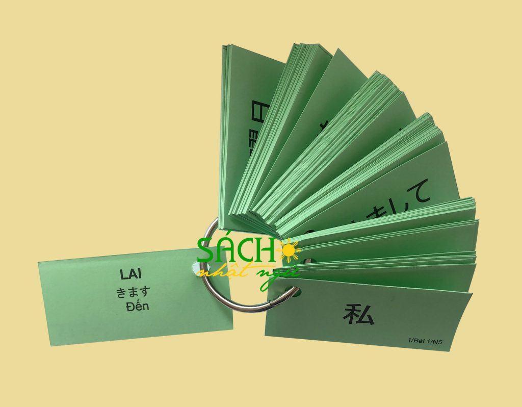 Phương pháp học tiếng Nhật hiệu quả với Flashcard 1